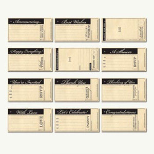 7 Gypsies - 97% Complete Tags - Greetings and Salutations Assortment