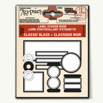 7 Gypsies - 97% Label Sticker Book - Stickers - Classic Black, CLEARANCE