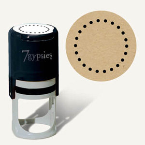 7 Gypsies - 97% Complete - Certifiable Stamp - Dots, BRAND NEW