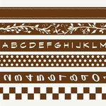 7 Gypsies - Gaffer Tape Kits - Chocolate Brown, BRAND NEW