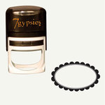 7 Gypsies - 97% Complete - Certifiable Stamp - Oval - Flower, BRAND NEW