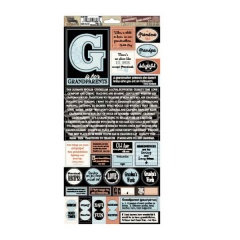 7 Gypsies - 97% Complete - Journal Stickers - Grandparents