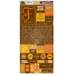 7 Gypsies - 97% Complete - Journal Stickers - Thanksgiving, CLEARANCE