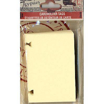 7 Gypsies - Artist Trading Cards - Card Holder Tag Refills