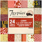 7 Gypsies - 12x12 Paper Pack - Variety - Journey - Karma