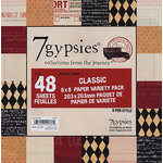 7 Gypsies - 8x8 Paper Pack - Variety - Journey - Classic, BRAND NEW