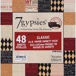 7 Gypsies - 8x8 Paper Pack - Variety - Journey - Classic, BRAND NEW