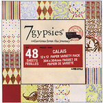 7 Gypsies - 12x12 Paper Pack - Journey - Calais