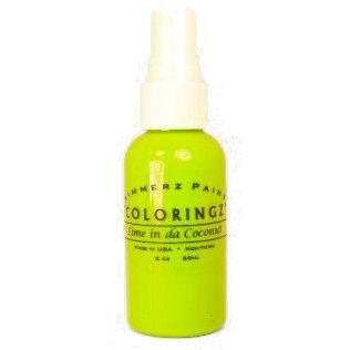 Shimmerz - Coloringz - Pigment Mist Spray - 2 Ounce Bottle - Lime in da Coconut