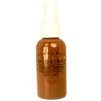 Shimmerz - Coloringz - Pigment Mist Spray - 1 Ounce Bottle - Tropical Tanline