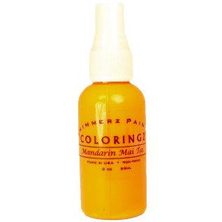 Shimmerz - Coloringz - Pigment Mist Spray - 2 Ounce Bottle - Mandarin Mai Tai