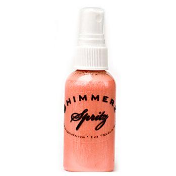 Shimmerz - Spritz - Iridescent Mist Spray - 2 Ounce Bottle - Mango Madness