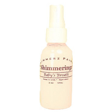 Shimmerz - Shimmeringz - Non-Pigmented Iridescent Mist Spray - 1 Ounce Bottle - Baby's Breath