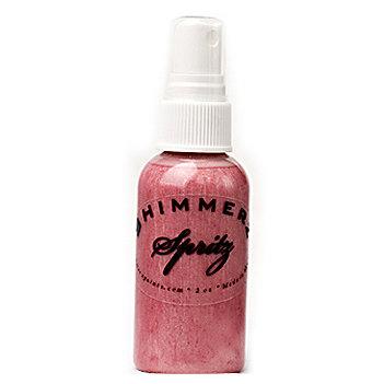 Shimmerz - Spritz - Iridescent Mist Spray - 1 Ounce Bottle - Bed of Roses