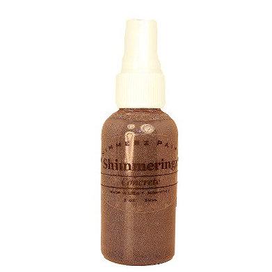 Shimmerz - Shimmeringz - Non-Pigmented Iridescent Mist Spray - 1 Ounce Bottle - Concrete