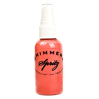 Shimmerz - Spritz - Iridescent Mist Spray - 2 Ounce Bottle - Caribbean Sunset
