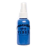 Shimmerz - Vibez - Iridescent Mist Spray - Bold - 2 Ounce Bottle - Blue Jeans