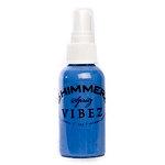 Shimmerz - Vibez - Iridescent Mist Spray - Bold - 2 Ounce Bottle - Blue Jeans
