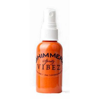 Shimmerz - Vibez - Iridescent Mist Spray - Bold - 2 Ounce Bottle - Fiery Fiesta