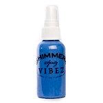 Shimmerz - Vibez - Iridescent Mist Spray - Bold - 1 Ounce Bottle - Blue Jeans