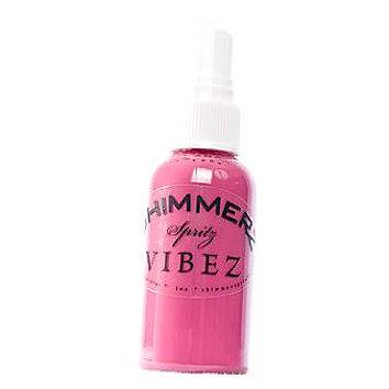 Shimmerz - Vibez - Iridescent Mist Spray - Bold - 1 Ounce Bottle - Razzeldazzel Berry
