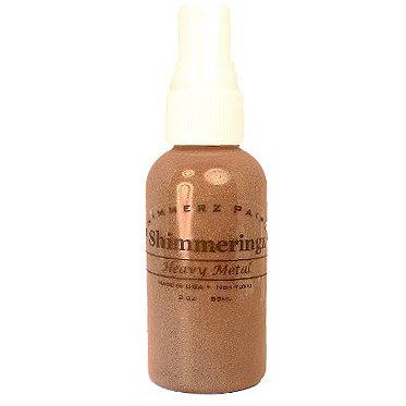 Shimmerz - Shimmeringz - Non-Pigmented Iridescent Mist Spray - 2 Ounce Bottle - Heavy Metal