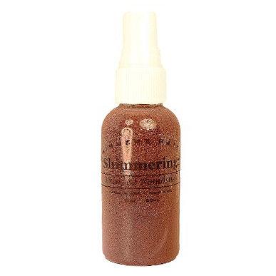 Shimmerz - Shimmeringz - Non-Pigmented Iridescent Mist Spray - 1 Ounce Bottle - Bronzed Bombshell