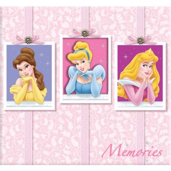 Sandylion - Disney Princess Collection - 12x12 Embossed Album with Glitter - Memories, CLEARANCE