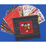 Sandylion - Disney - 12x12 Scrapbook Album Kit - Mickey, CLEARANCE