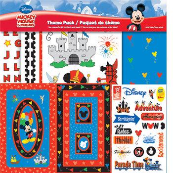 Sandylion - Disney Collection - Theme Pack - Mickey Theme Park, CLEARANCE