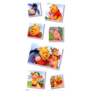 Sandylion Stickers - Pooh Snapshots, CLEARANCE