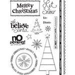 Sandylion - Kelly Panacci Collection - Clear Acrylic Stamps - Christmas, CLEARANCE