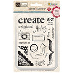 Sandylion - Artsy Collection by Kelly Panacci - Clear Stamps - Artsy, CLEARANCE