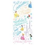 Sandylion - Disney Princess Collection - Stickers - Princess Signatures, CLEARANCE