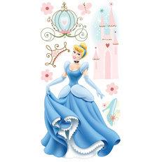 Sandylion - Disney Princesses Collection - Essentials 3 Dimensional Stickers - Cinderella
