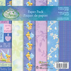 Sandylion - Disney Fairies Collection - 8x8 Paper Pack - Tinker Bell