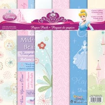 Sandylion - Disney Princess Collection - 12x12 Paper Pack - Princess