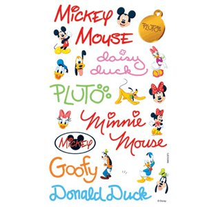 Sandylion Stickers - Mickey Autographs