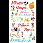 Sandylion Stickers - Mickey Autographs