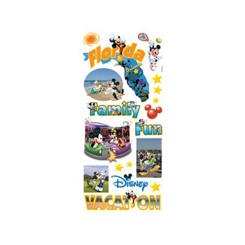 Sandylion - Disney Collection - Stickers - Florida, CLEARANCE