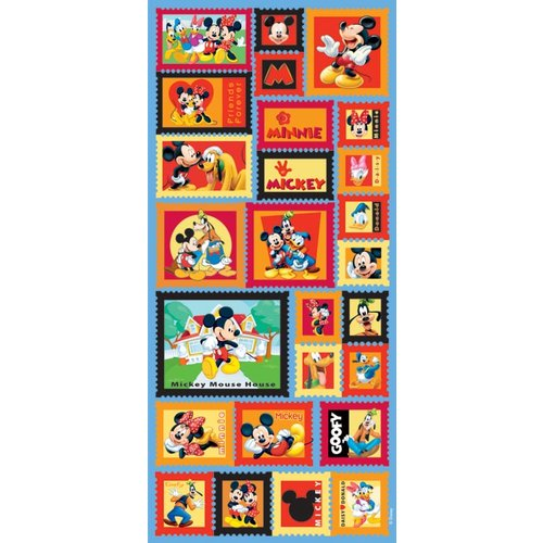 Sandylion - Disney - Mickey and Friends - Postage Stamp Stickers, CLEARANCE