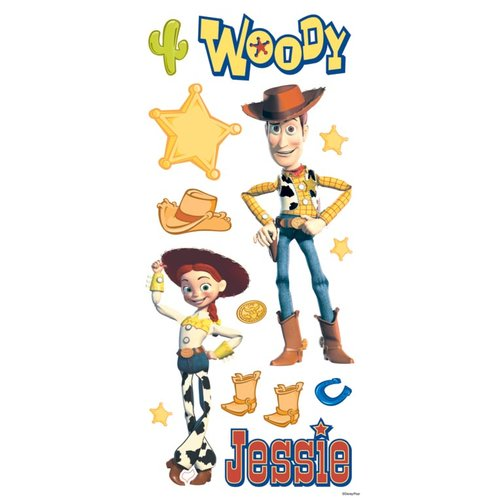 Sandylion - Disney - Toy Story - Woody and Jessie Sticker Sheet
