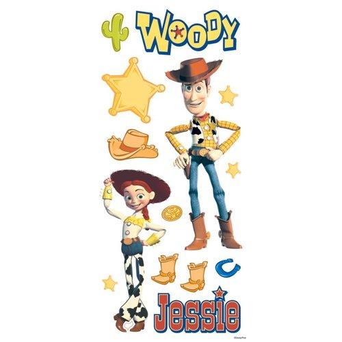 Sandylion - Disney - Toy Story - Woody and Jessie Sticker Sheet