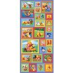 Sandylion - Disney - Pooh and Friends - Postage Stamp Stickers