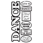 Sandylion - Essentials - Hand Made Stickers - Dance - Wedding - Prom, CLEARANCE