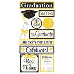 Sandylion - Graduation Collection - Large Essentials - Handmade Stickers - Graduation - Graduate, CLEARANCE
