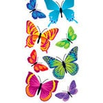 Sandylion - Large Essentials - Handmade 3 Dimensional Stickers - Realistic Butterflies