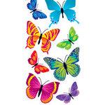 Sandylion - Large Essentials - Handmade 3 Dimensional Stickers - Realistic Butterflies