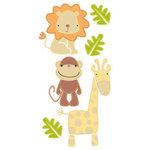Sandylion - Essentials - Handmade 3 Dimensional Stickers - Jungle Animals
