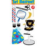 Sandylion - Large Essentials - Handmade 3 Dimensional Stickers - First Haircut